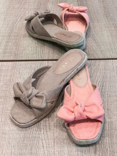 Sandália flat lacinho