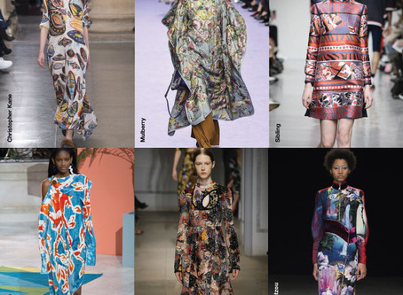 O Melhor das Estampas da London Fashion Week