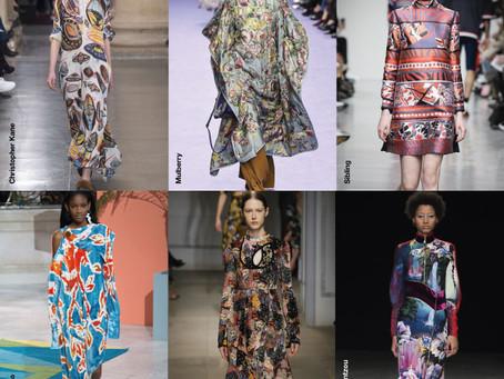 O Melhor das Estampas da London Fashion Week