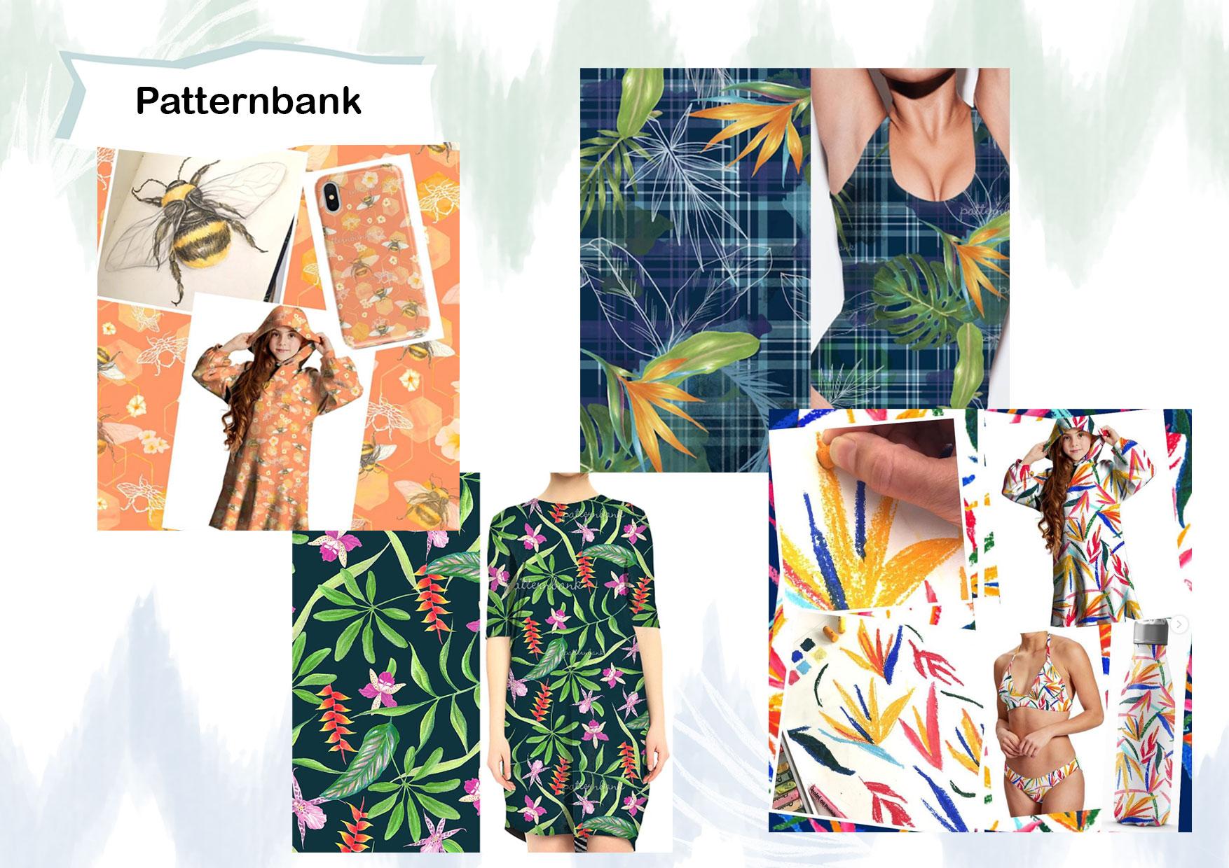 Estampas para Patternbank
