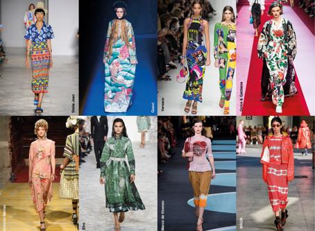 Destaques das Estampas da Semana de Moda de Milão
