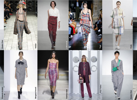 As Estampas na London Fashion Week
