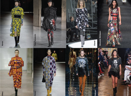 As estampas da Semana de Paris - Inverno 2017