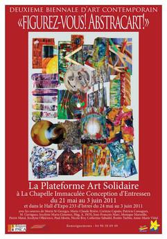 Affiche La Plateforme Art Solidaire