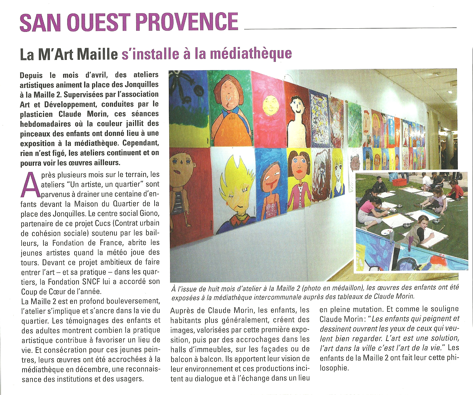 2011 maille 2 article meditheque
