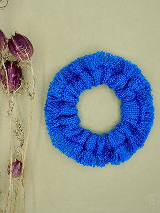 Haargummi Blau