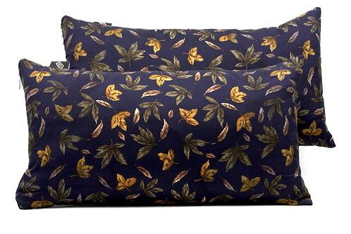 Cuscini blucon stampa floreale verde