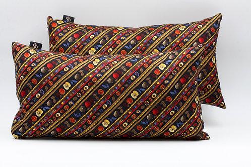 Cuscini neri in seta per divani, poltrone, panche,ideale per arredare spazi living, terrazze, giardini d'inverno