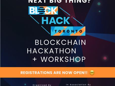 Toda.Network to Sponsor Blockhack Toronto #BlockhackTO