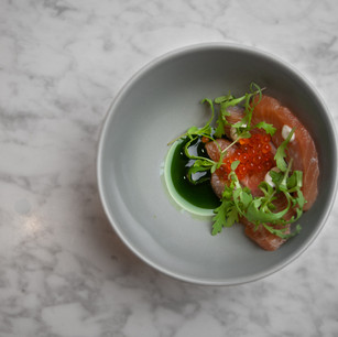 Ginger Cured Hudson Valley Trout