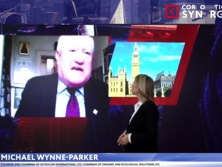 Michael Wynne-Parker spoke at the Russian-British Forum