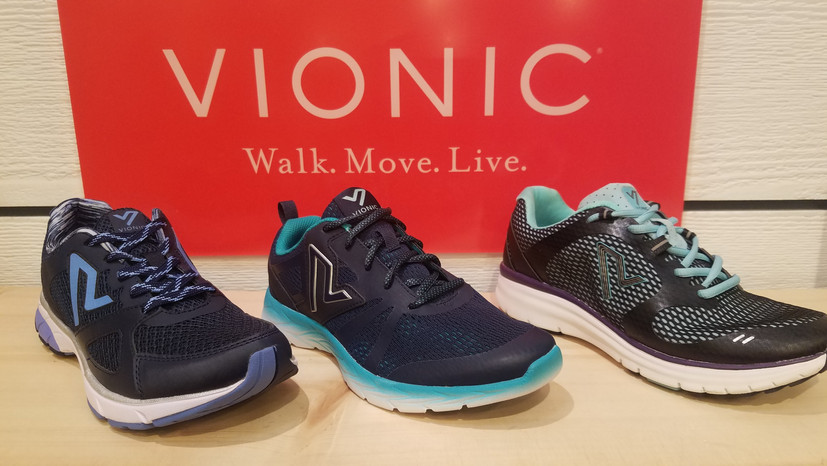 stitch and sole vionic athletic