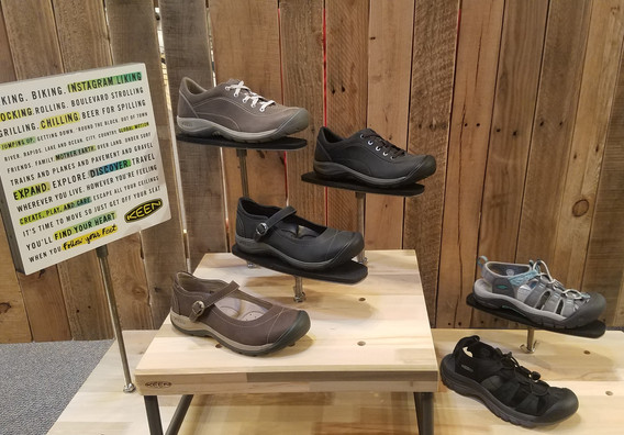 stitch and sole womens keen