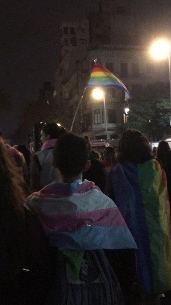 Looking back: trans march