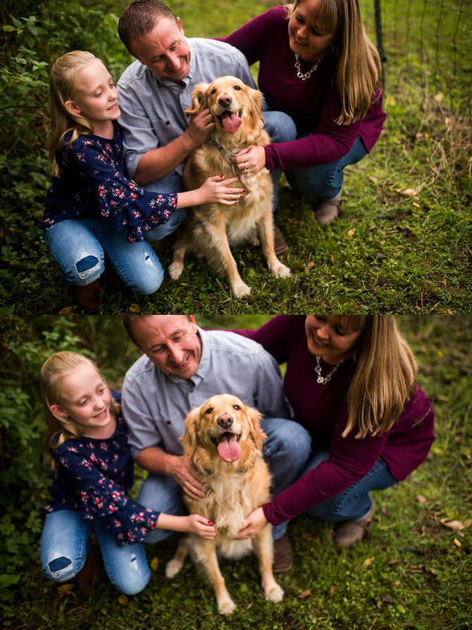 Baker Family | Fall Mini Session | 2018 | Family Photos | Allerton Park & Retreat Center | Monti