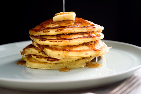 Buttermilk Cafe Pancakes in Bedford