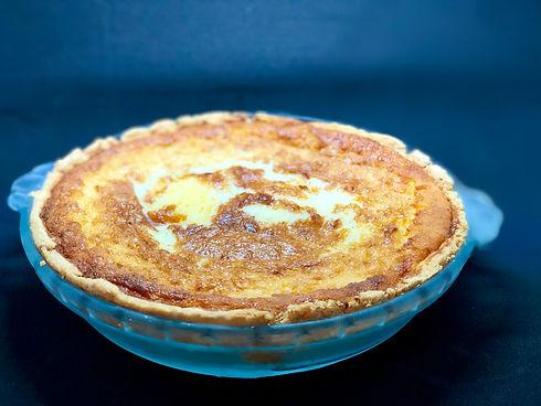 Buttermilk Pie at Buttermilk Cafe in Bedfor