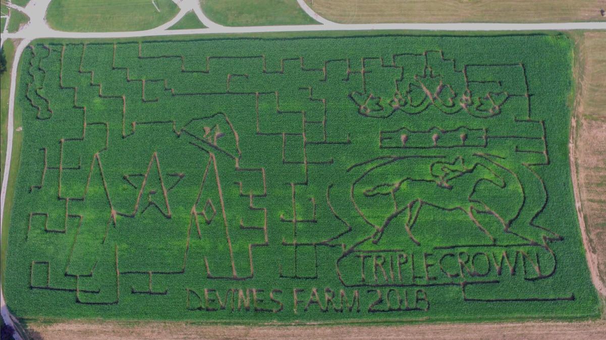 2018 Devine's Corn Maze R1