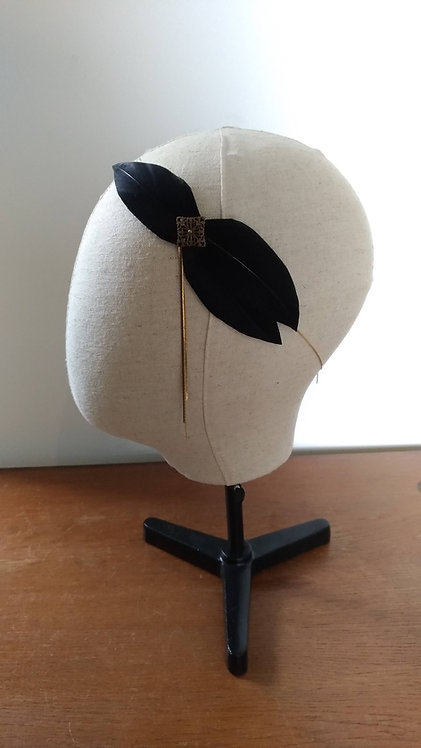 Headband Coco noir - stock