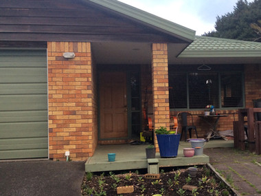 Original home before addtion / Titirangi. MBD Builders Ltd.