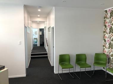 Inside clinic / Glen Innes. MBD Builders Ltd.