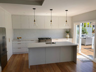 Front view kitchen / Remuera. MBD Builders Ltd.