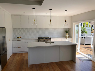 Front view kitchen / Remuera. MBD Builders Ltd.