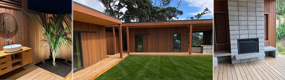 MBD Builders - New house build, Rakino Island