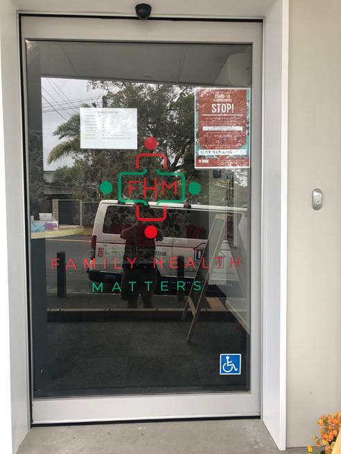 Entrance / Glen Innes. MBD Builders Ltd.