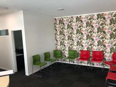 Waiting Area / Glen Innes. MBD Builders Ltd.