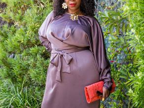 Brown Dress.  Brown Skin.