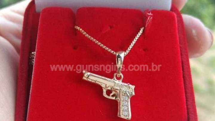 Gargantilha Pistola