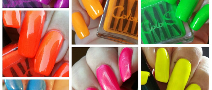 """ColorS """"California Girls"""" Neon Collection"""