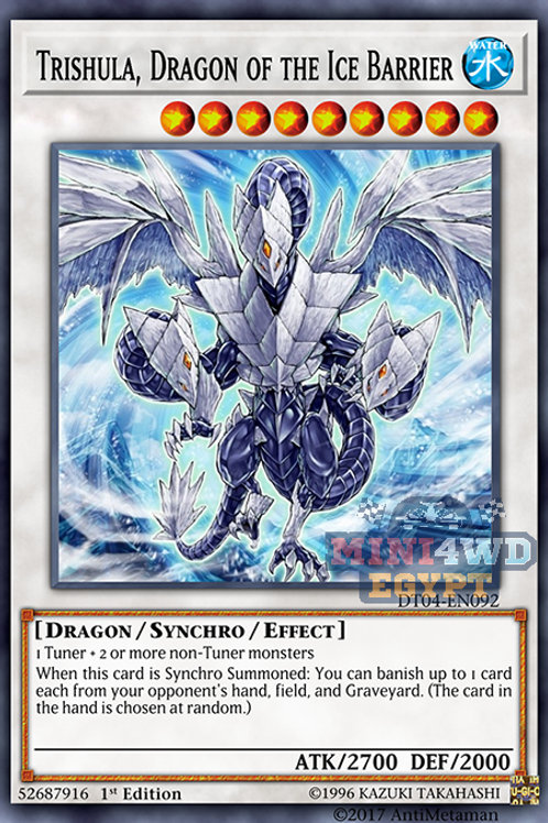 Trishula, The Dragon Of Icy Barrier