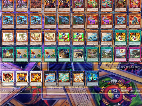 Dinosaurs Yu-Gi-Oh! Deck