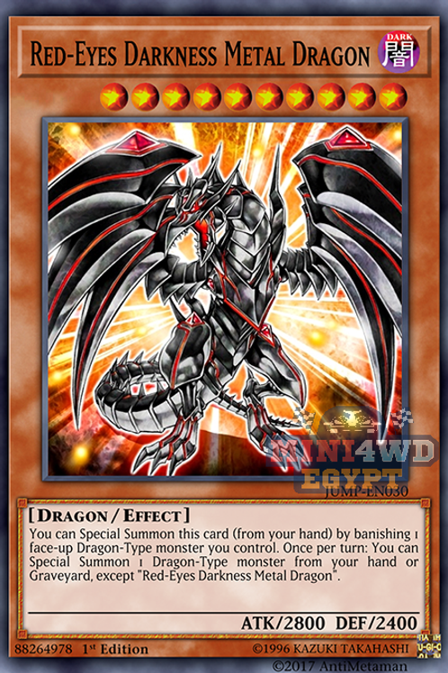 Red-Eyed Darkness Metal Dragon