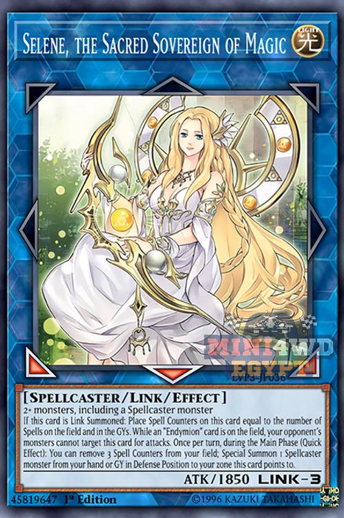 Selene, Queen Of The Master Magics