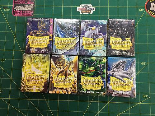 Dragon shield sleeves 60 pcs box - Yu-Gi-Oh!