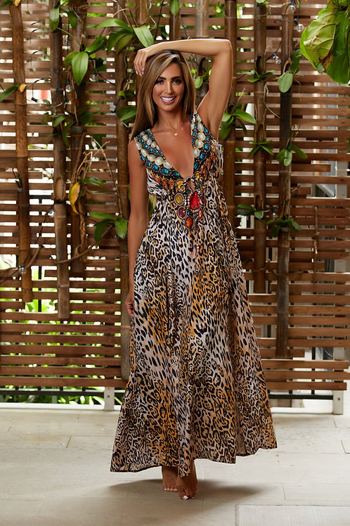 Dress Animal Print 1