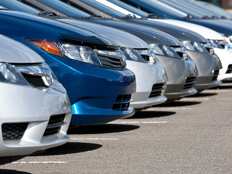 How do I get a rental car after an accident?