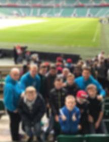 Youth Club at football stadium