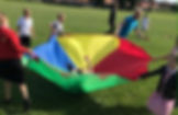 Children parachute