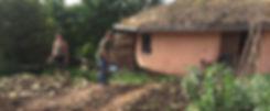 Gardening round house