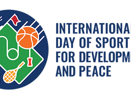 Міжнародний день спорту на благо миру та розвитку!