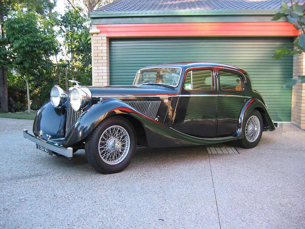 Jaguar SS Saloon 1940