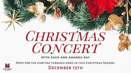 Christmas Concery - Zach and Amanda Ray.