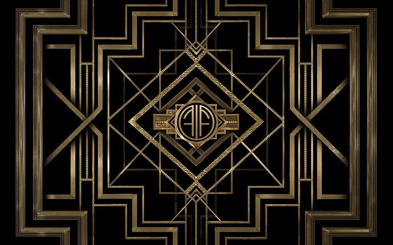 Art Deco Inspired Wallpaper - WallpaperS