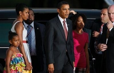 First Family on visit to Accra Ghana