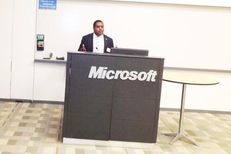 Visit to Microsoft Headquarters