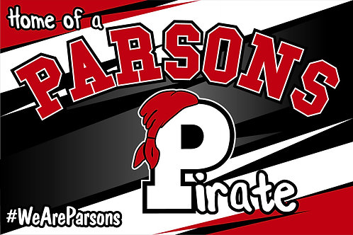 Parsons Yard Sign
